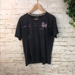 🌞Religion Distressed Graphic Tee Shirt